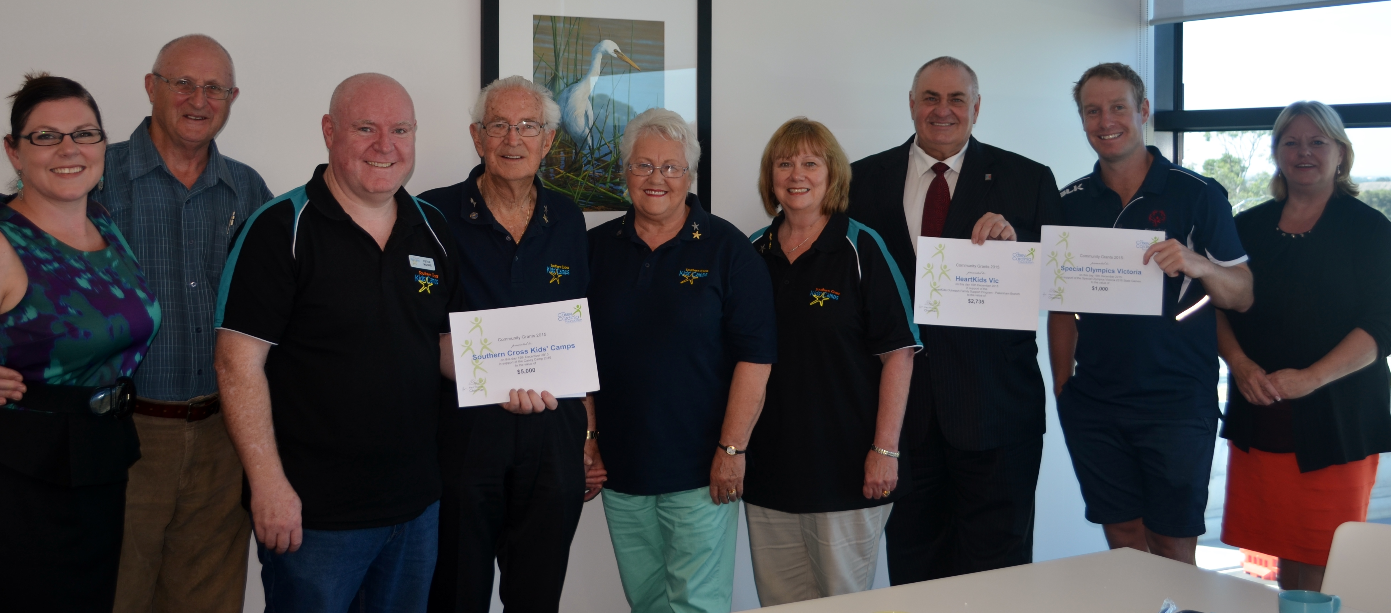 2015 Grant recipient presentation – Southern Cross Camps and Heartkids